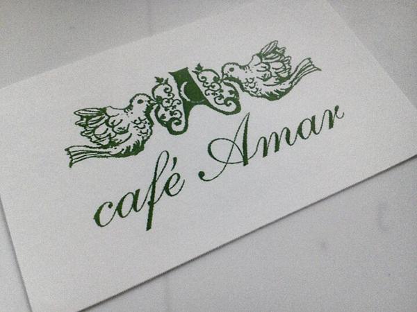 カフェ アマルのカード